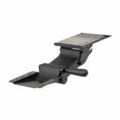 Knape & Vogt Adjustable Lift and Lock Keyboard Arm, Black
