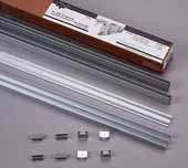 Roll-Ezy Aluminum Track Assembly Pack 72'' Width