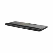 Full Width Melamine Keyboard and Mouse Tray in Black, 25-1/4''W x 10-1/2''D x 1/2''H