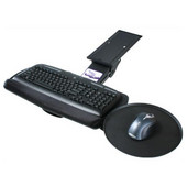- Intuitive Keyboard Tray w/Mouse Tray, 20'' W x 10 2/5'' D