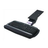 - Intuitive Keyboard Tray without Mouse Tray, 20'' W x 10 4/5'' D