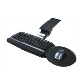 - Intuitive Keyboard Tray w/Mouse Tray, 20'' W x 10 4/5'' D