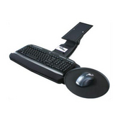 - Keyboard Tray w/Round Mouse Tray, 20'' W x 10 4/5'' D