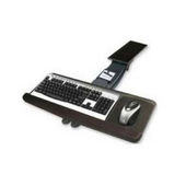 - Keyboard Tray w/Square Mouse Tray, 25'' W x 10'' D