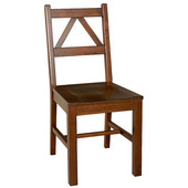 Titian Chair, Antique Tobacco, 17-1/3''W x 21-9/16''D x 37-9/16''H