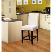 Stewart Counter Stool 24'', Black, 18''W x 22''D x 41''H