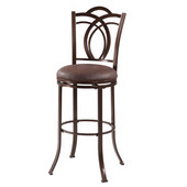 Calif Metal Bar Stool, 17-1/2''W x 19-3/10''D x 47-1/5''H