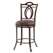 Calif Metal Counter Stool, 17-1/2''W x 19-1/4''D x 41-3/10''H