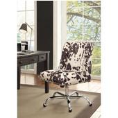 Draper Office Chair Udder Madness Black - Base, Chrome, 24''W x 26''D x (37 -- 41)''H