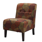 Coco Accent Chair - Harvest, 22-1/2''W x 30''D x 33''H