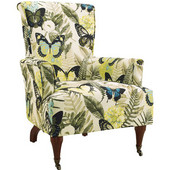 Junnell Arm Chair, Dark Walnut, 28''W x 32''D x 39''H