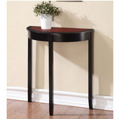 Camden Demi Lune Console Table, 26''W x 13''D x 28''H