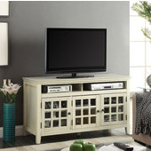 Largo Media Cabinet in White, 48'' W x 20'' D x 27'' H