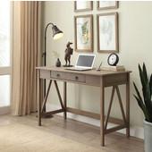 Titian Desk in Rustic Gray, 46'' W x 20'' D x 30'' H