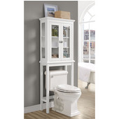 Scarsdale Freestanding Space Saver in White, 26'' W x 10-1/4'' D x 66-15/16'' H