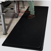 Invigorator Floor Mat, 3' x 5' x 1/2'', Black