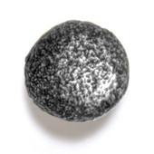 Bark, Leaves & Rocks Collection 1-1/8'' Diameter Rock 6 Round Knob in Antique Pewter, 1-1/8'' Diameter x 1'' D