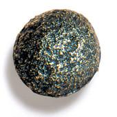 Bark, Leaves & Rocks Collection 1-3/4'' Diameter Rock 8 Round Knob in Antique Brass, 1-3/4'' Diameter x 1-3/8'' D