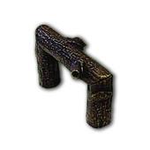 Branch & Vine Collection 2-1/2'' W Modern Birch Finger Pull in Antique Brass, 2-1/2'' W x 1-5/8'' D