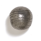 Bark, Leaves & Rocks Collection 1-1/8'' Diameter Round Ball Knob in Antique Pewter, 1-1/8'' Diameter x 1-1/8'' D