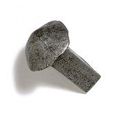 Faucets & Cleats Collection 1-1/4'' W Spike Knob in Antique Pewter, 1-1/4'' W x 1-1/2'' D