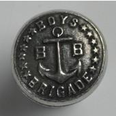 Blocks & Ropes Collection 7/8'' Diameter Round Boys Brigade Knob in Antique Pewter, 7/8'' Diameter x 3/4'' D