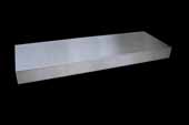 30''W Stainless Steel Floating Shelves, 30''W x 10''D x 2-1/2''H