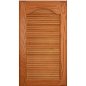 Louver Panel Kit, Red Oak