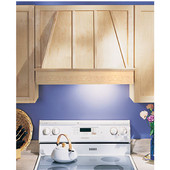Wood Range Hood Front, 30'' or 36'', Available in Multiple Wood Species