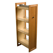 11-1/2''W Tall Pull-Out Wood Kitchen Pantry