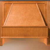 Select Series 30'' or 36'' Wood Range Hood Front, Available in Multiple Wood Species