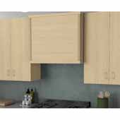 Canopy Modern Farmhouse Range Hood in Multiple Wood Species and Widths