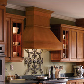 Signature Series Wall Chimney Range Hood, Available in Multiple Wood Species & Sizes