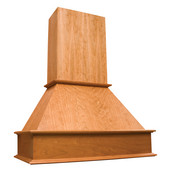 Signature Series Wall Chimney Range Hood with Liner for NA-SUT90870M, Available in Multiple Wood Species & Sizes