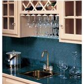 36'' Wine Glass Stemware Rack, Cherry