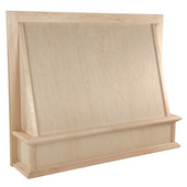 Classic Wood Hood Front, Available in Multiple Sizes and Woods