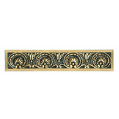 King's Road Collection 5-3/16'' Wide Kensington Cabinet Pull in 24K Satin Gold, 5-3/16'' W x 1-1/8'' D x 1'' H