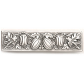 Kitchen Garden Collection 4-7/8'' Wide Autumn Squash Cabinet Pull in Antique Pewter, 4-7/8'' W x 7/8'' D x 1-1/4'' H