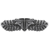 Period Pieces Collection 3-7/8'' Wide Dragonfly Cabinet Pull in Antique Pewter, 3-7/8'' W x 7/8'' D x 1-1/8'' H