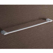 Gedy Towel Holder, 0-3/5'' H x 23-3/5'' W x 2-2/5'' D, Chrome