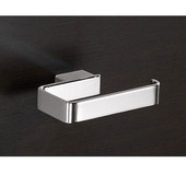 Gedy Toilet Roll Holder, 0-4/5'' H x 5-1/10'' W x 3-7/10'' D, Chrome