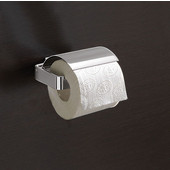 Gedy Toilet Roll Holder, 1-4/5'' H x 5-1/10'' W x 5-2/5'' D, Chrome
