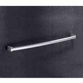 Wall Mounted 24 Inch Towel Bar, 23-7/10'' L x 2-1/5'' W x 1-1/10'' H, Chrome