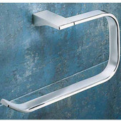 Gedy Towel Ring, 4-4/5'' H x 9-2/5'' W x 3-1/5'' D, Chrome