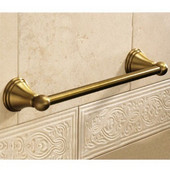 Wall Mounted 24 Inch Towel Bar, 23-3/5'' L x 2-9/10'' W x 2-1/5'' H, Bronze