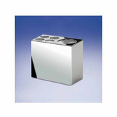 Windisch Box Metal Series Toothbrush Holder in Chrome