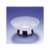Windisch Acqua Series Frozen Glass Soap Dish in Chrome