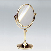 Windisch Free Standing 3X Magnifying Mirror, Available in Multiple Finishes