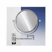 Windisch Double Face Wall Mounted 3X Magnifying Mirror in Gold