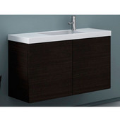 Iotti by  Happy Day HD03 Wall Mounted Single Sink Bathroom Vanity in Multiple Finishes, 39'' Wide (Includes: Main Cabinet and Sink Top)